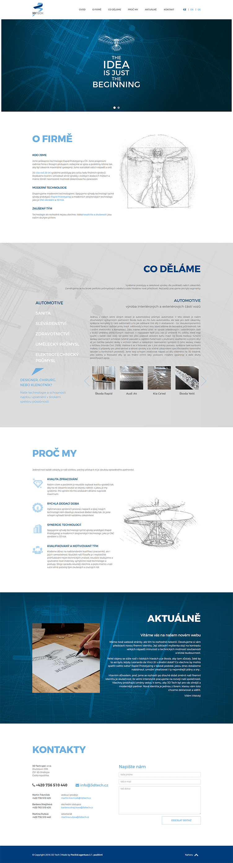 3D Tech – Web a PPC reklama