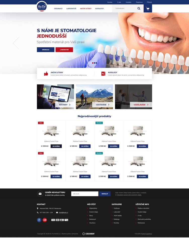 Hufa – design e-shopu